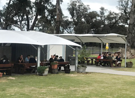 Crooked Carrot Café in Myalup