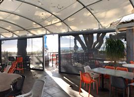 Equinox Café Busselton waterproof structure