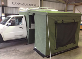 Ute Canopy and annexe