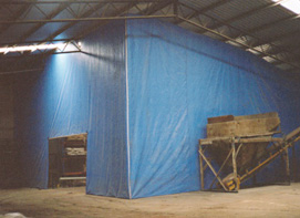 Room and dust divider