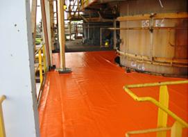 Industrial flooring cover